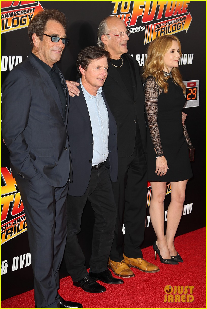 Michael j fox amp back to the future cast reunite for special