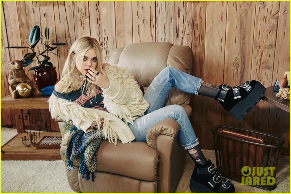 Susan Sarandon Calls Elle Fanning 'Fierce' In Nylon's November 2015 ... Zac Efron Details Photoshoot