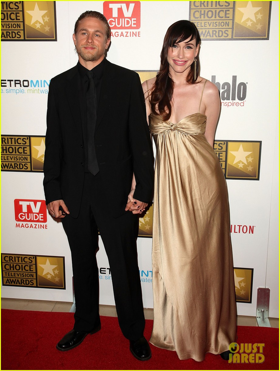 Join. Charlie hunnam and his wife