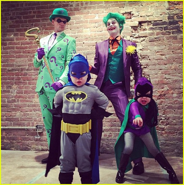 Neil Patrick Harris' Kids' First Halloween Costumes Are So