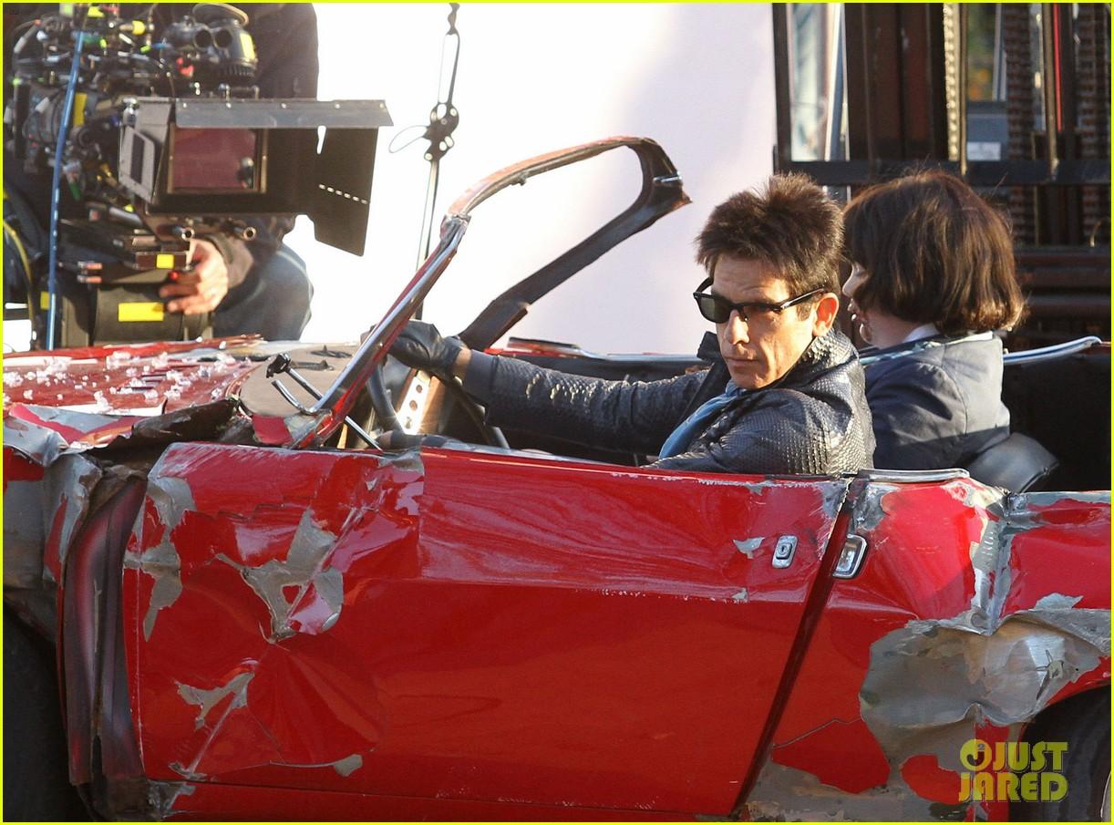 Ben Stiller Films A Car Crash Scene For Zoolander 2 In