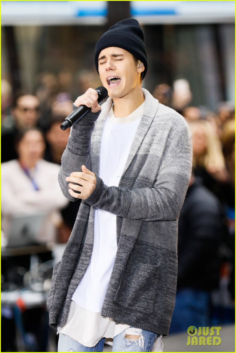 Justin Bieber Performs 'Sorry' & More on 'Today' Show - Watch Now!