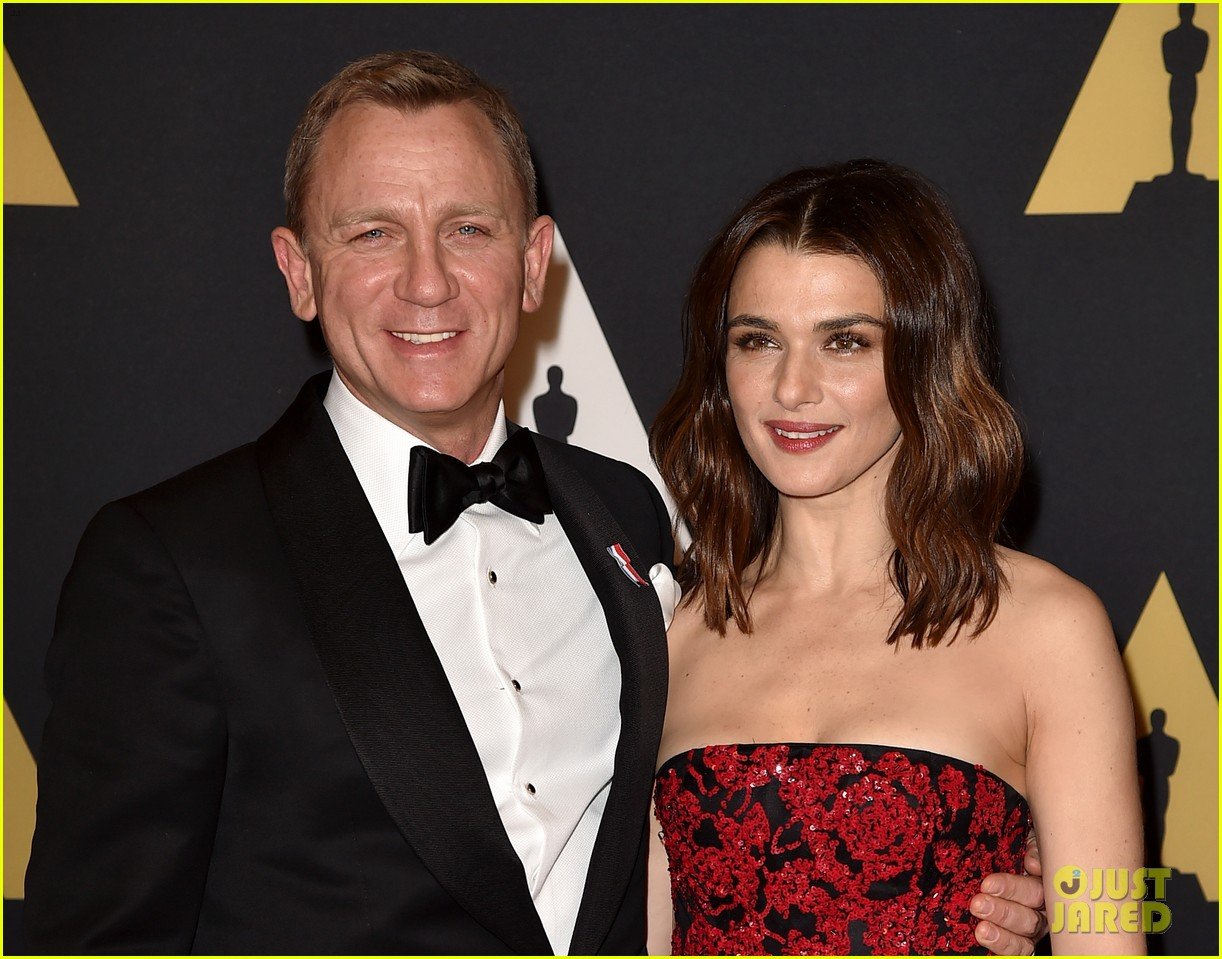 Full Sized Photo of daniel craig rachel weisz governors awards 2015 14 ...