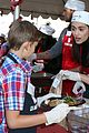 emmy rossum the mission thanksgiving food 35