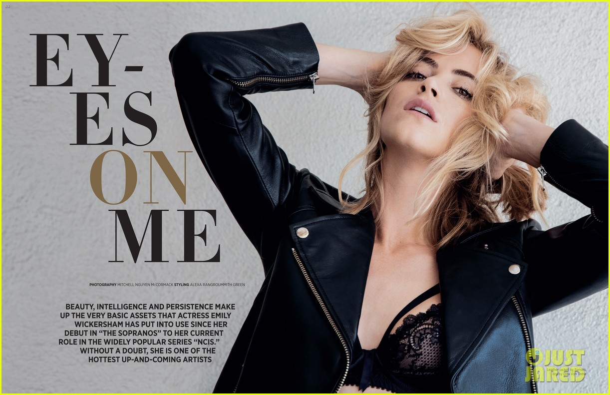 30c2dcb9a80 NCIS' Emily Wickersham Poses in Sexy Lingerie for 'Da Man': Photo 3517503 |  Emily Wickersham, Magazine Pictures | Just Jared