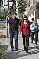 emmy rossum fiance sam esmail walk together 30