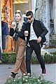 rami malek portia doubleday the grove christmas eve 04