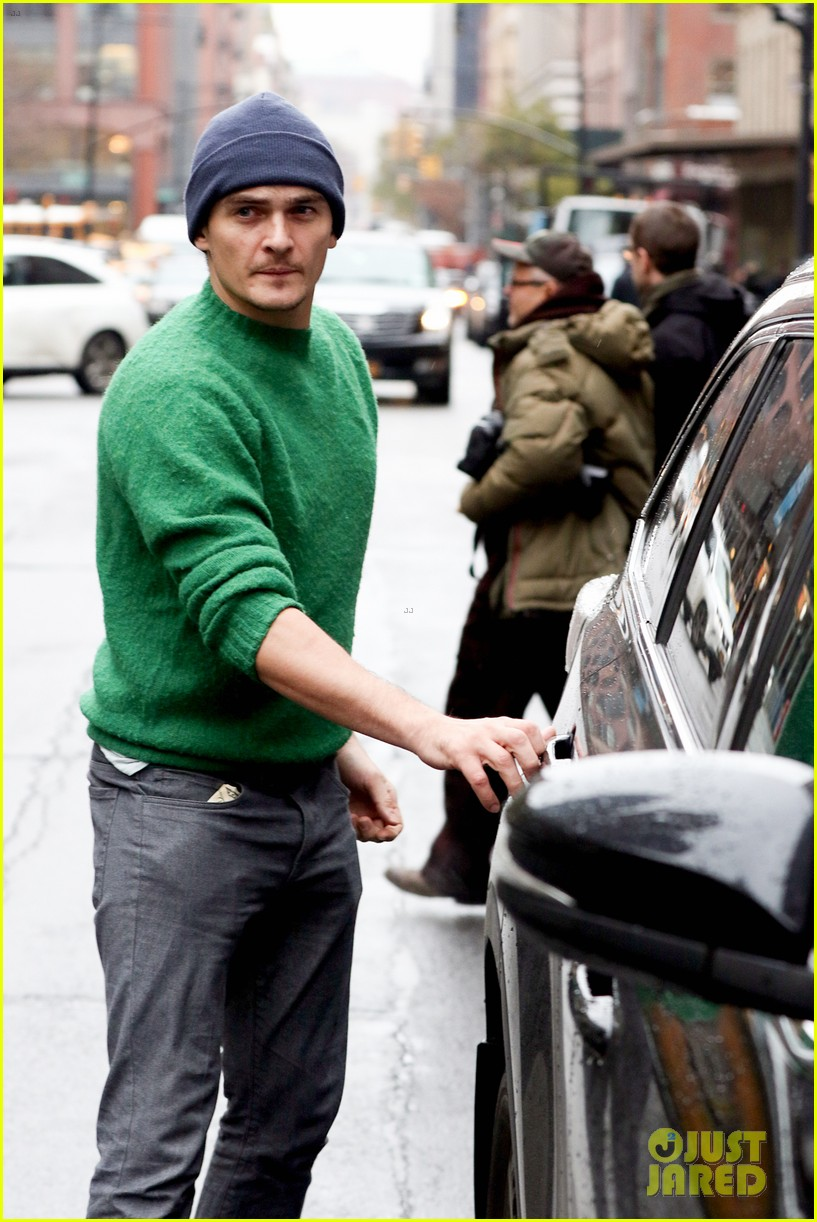 rupert friend injury
