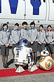 the force awakens cast flies to london in r2d2 plane 51