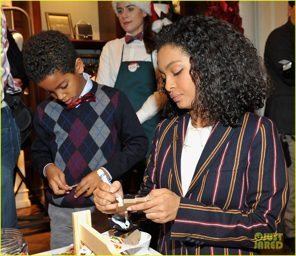 Camilla Belle, Jesse Metcalfe & Cara Santana Make Holiday Ornaments At  Brooks Brothers' Holiday Party For St Jude: Photo 3523983  Abigail  Spencer,