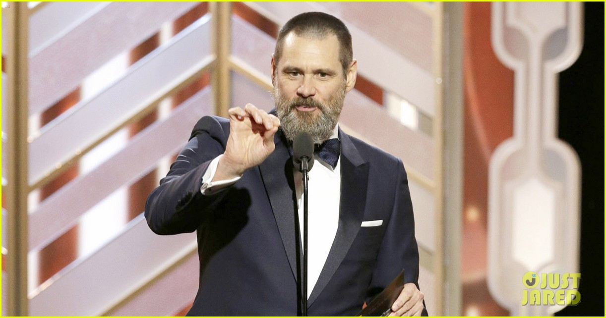 Jim Carrey's Golden Globes 2016 Ad-Lib Speech Was Definitely a ... Jim Carrey