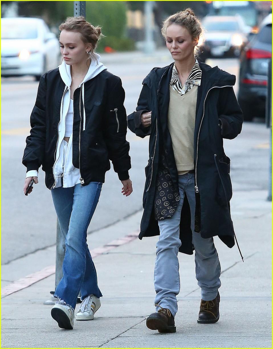 Lily-Rose Depp Shops W... Vanessa Paradis Rumors