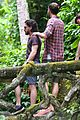 kit harington plays tourist in brazil rain forest 33