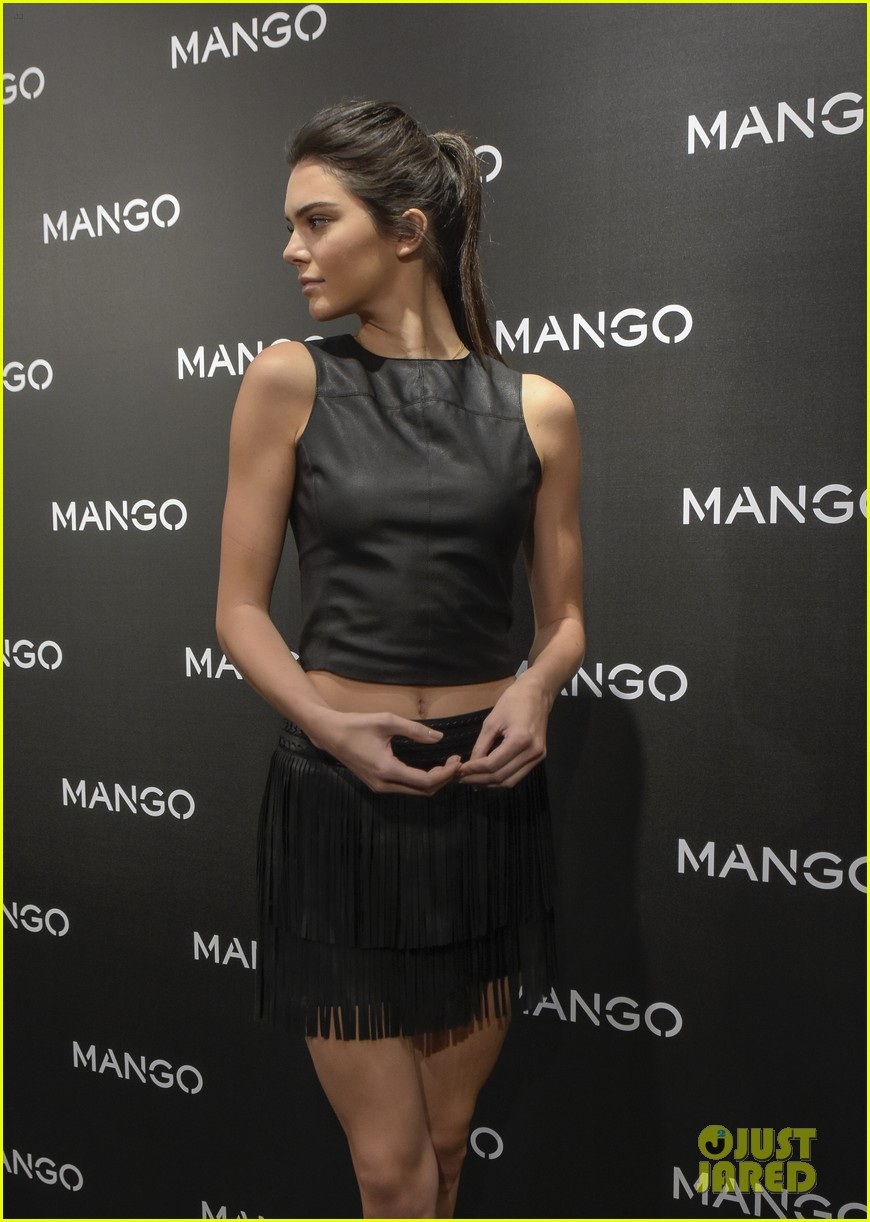 Kendall Jenner Hits Mango's Tribal Spirit Launch in ...