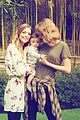 jaime king taylor swift leo six months 02