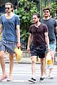 kit harington grabs food in brazil with pals 02