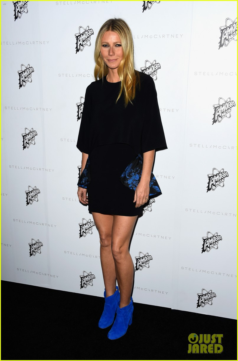 Gwyneth Paltrow Amp Kate Hudson Support Stella Mccartney At
