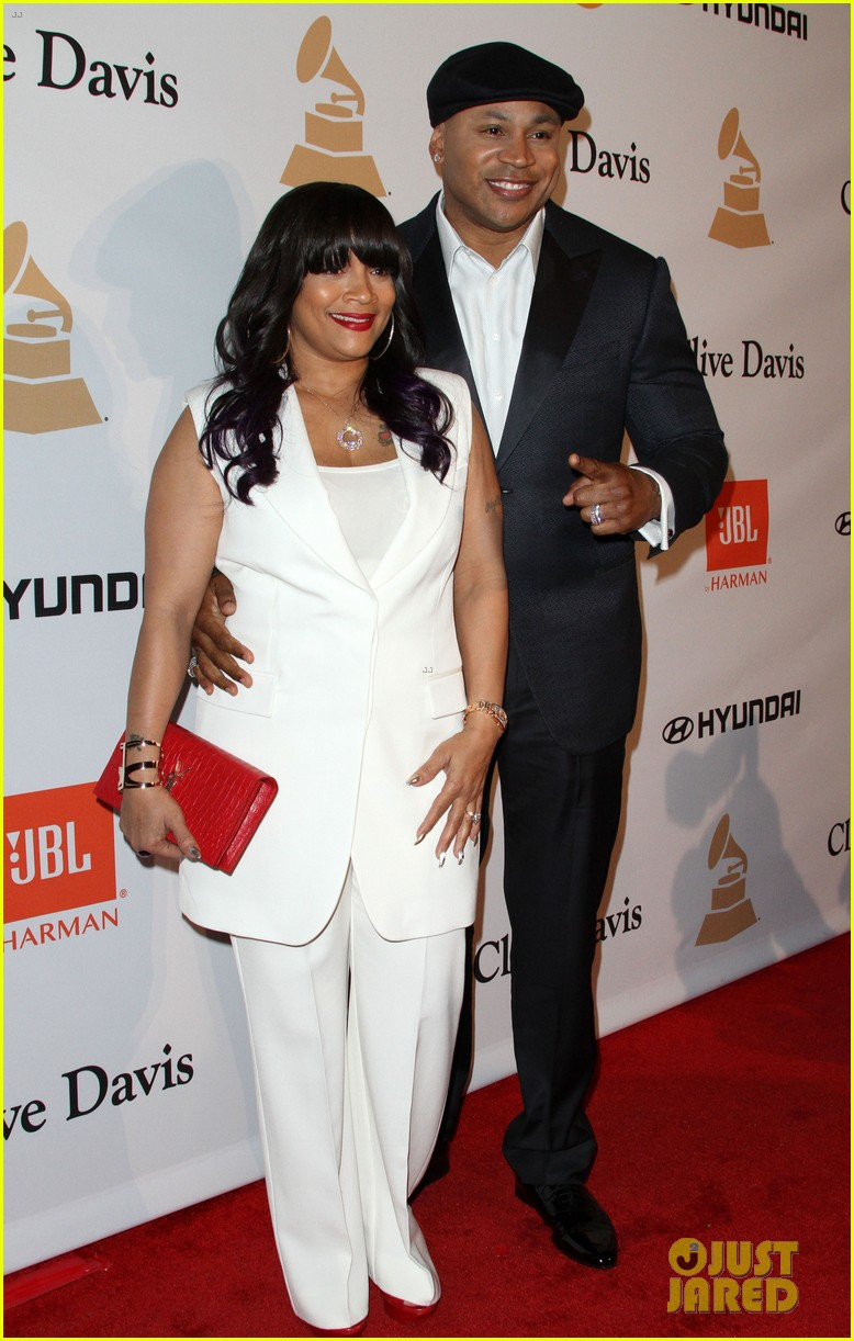 Ll Cool J Amp Wife Simone Smith Attend Pre Grammys Party