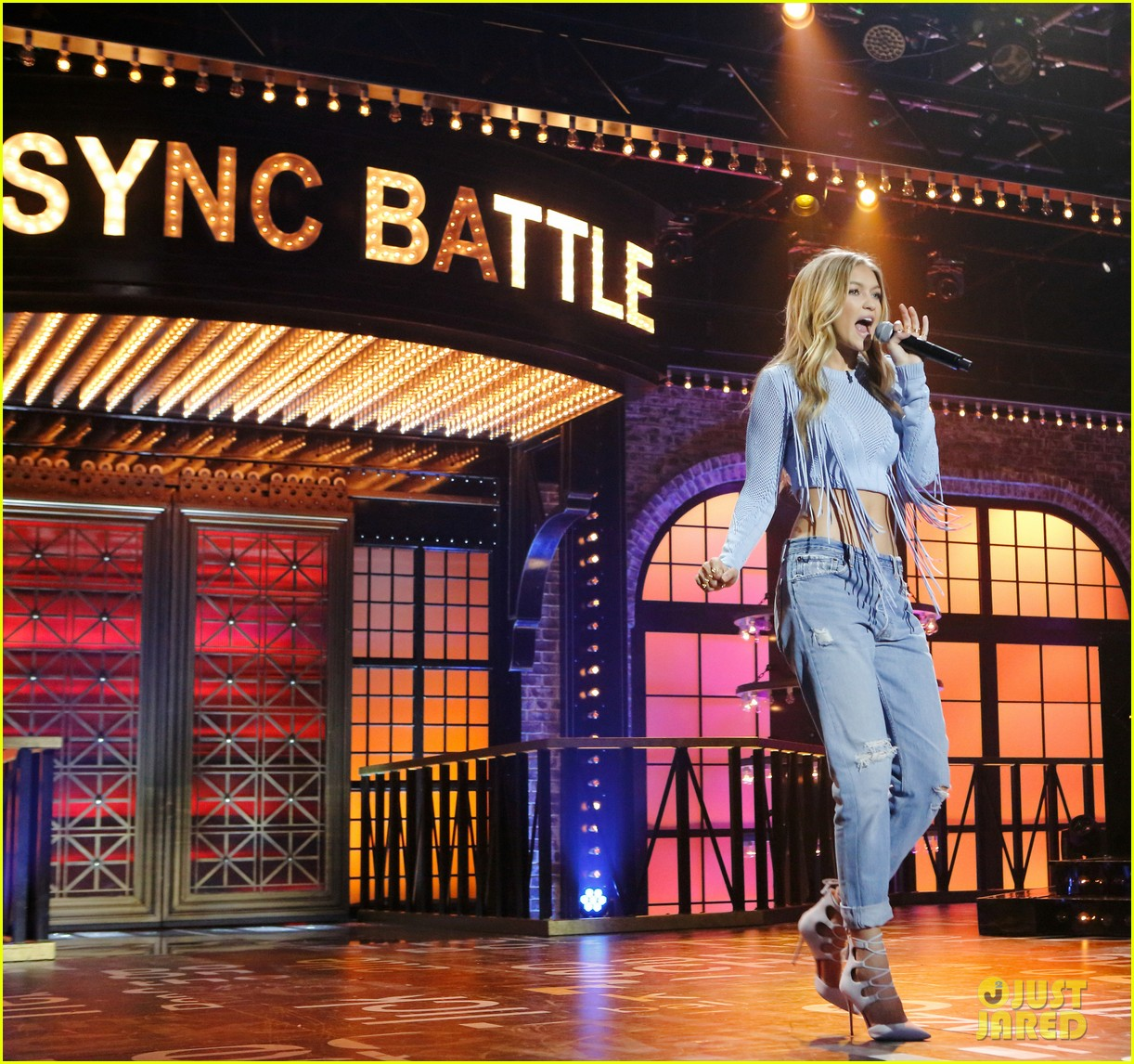 Gigi Hadid On Lip Sync Battle Video: Gigi Hadid's Full 'Lip Sync Battle' Performance With