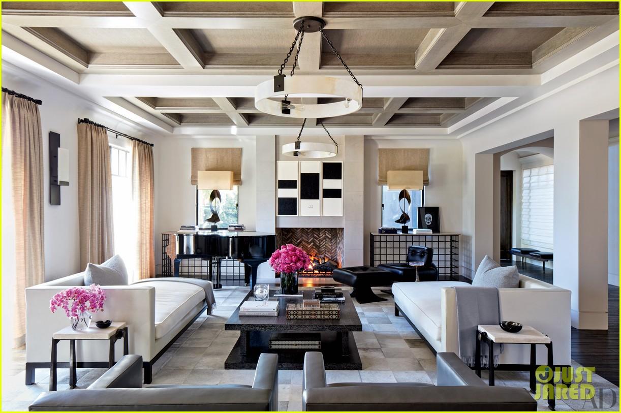 Kourtney Khloe Kardashian Show Off Their Homes In Architectural Digest