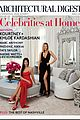 kourtney khloe kardashian architectural digest 01