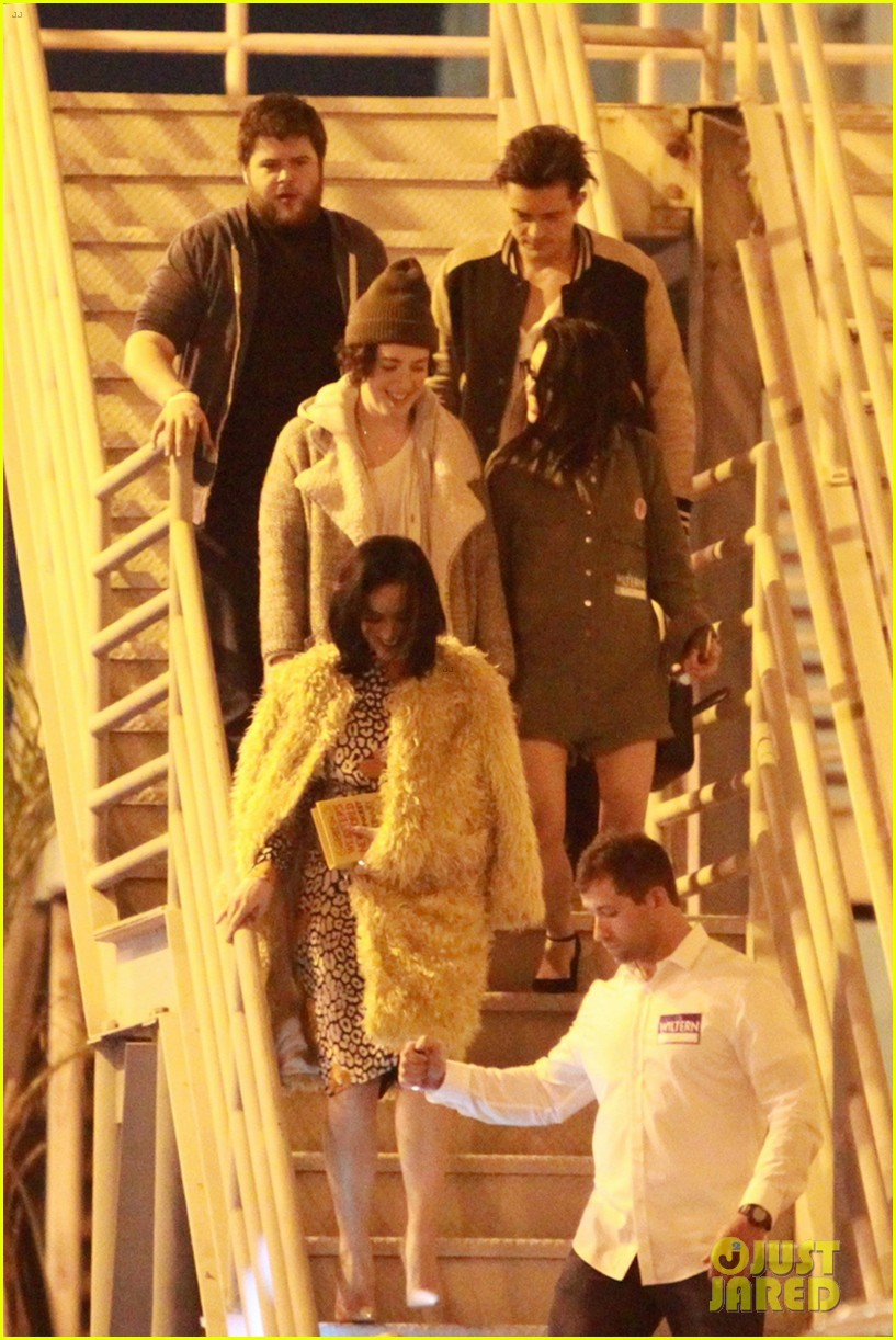 katy perry and orlando bloom couple up at adele concert 113576576