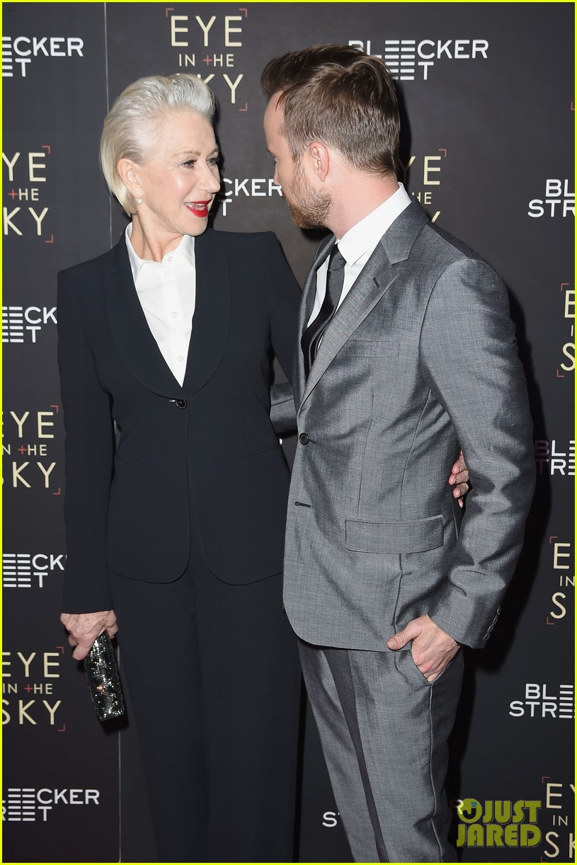 Aaron Paul helen mirren