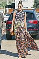 chrissy teigen floral dress nobu john 20