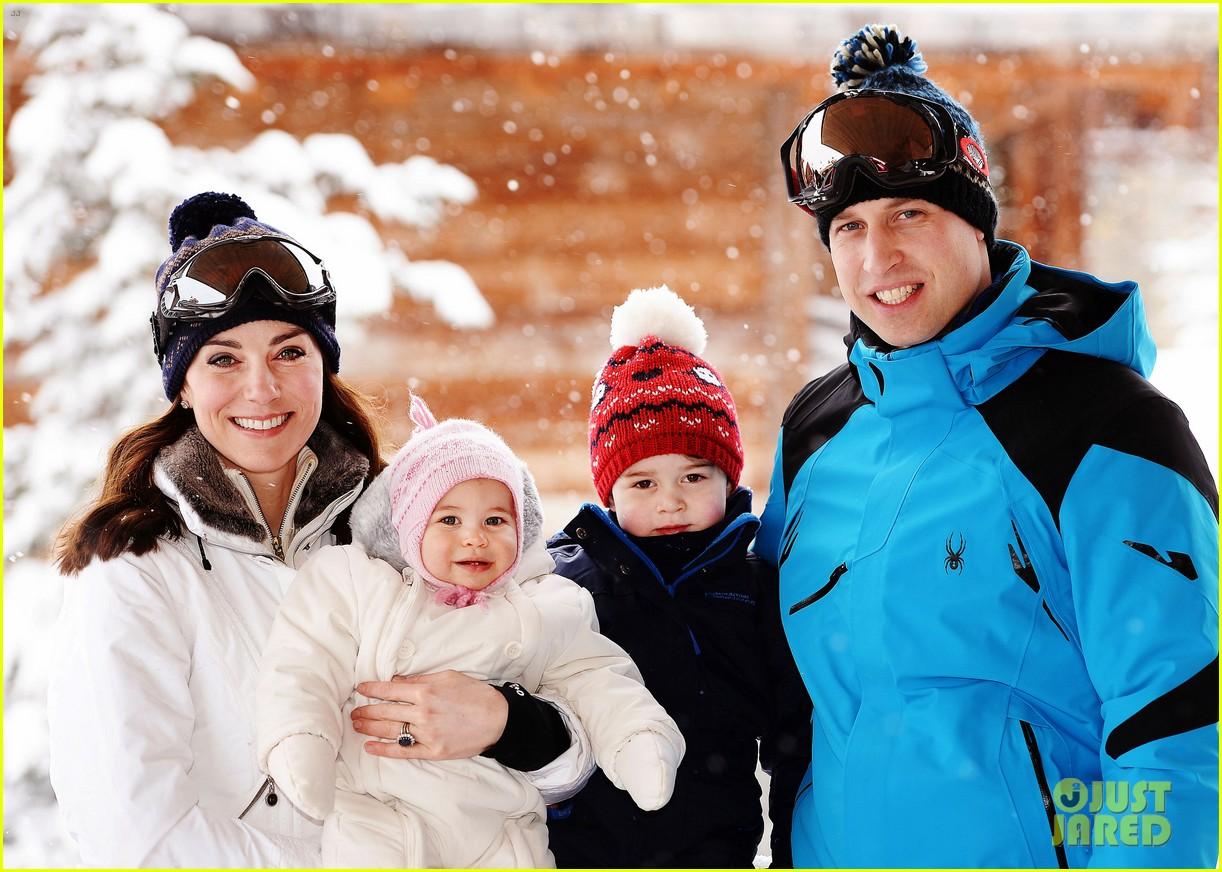 prince william kate middleton family ski trip george charlotte 083599431
