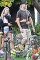 patrick schwarzenegger girlfriend abby champion easter photos 03