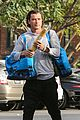 gavin rossdale picks up a baguette during grocery run 06
