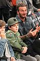 david beckham boys lakers game 02