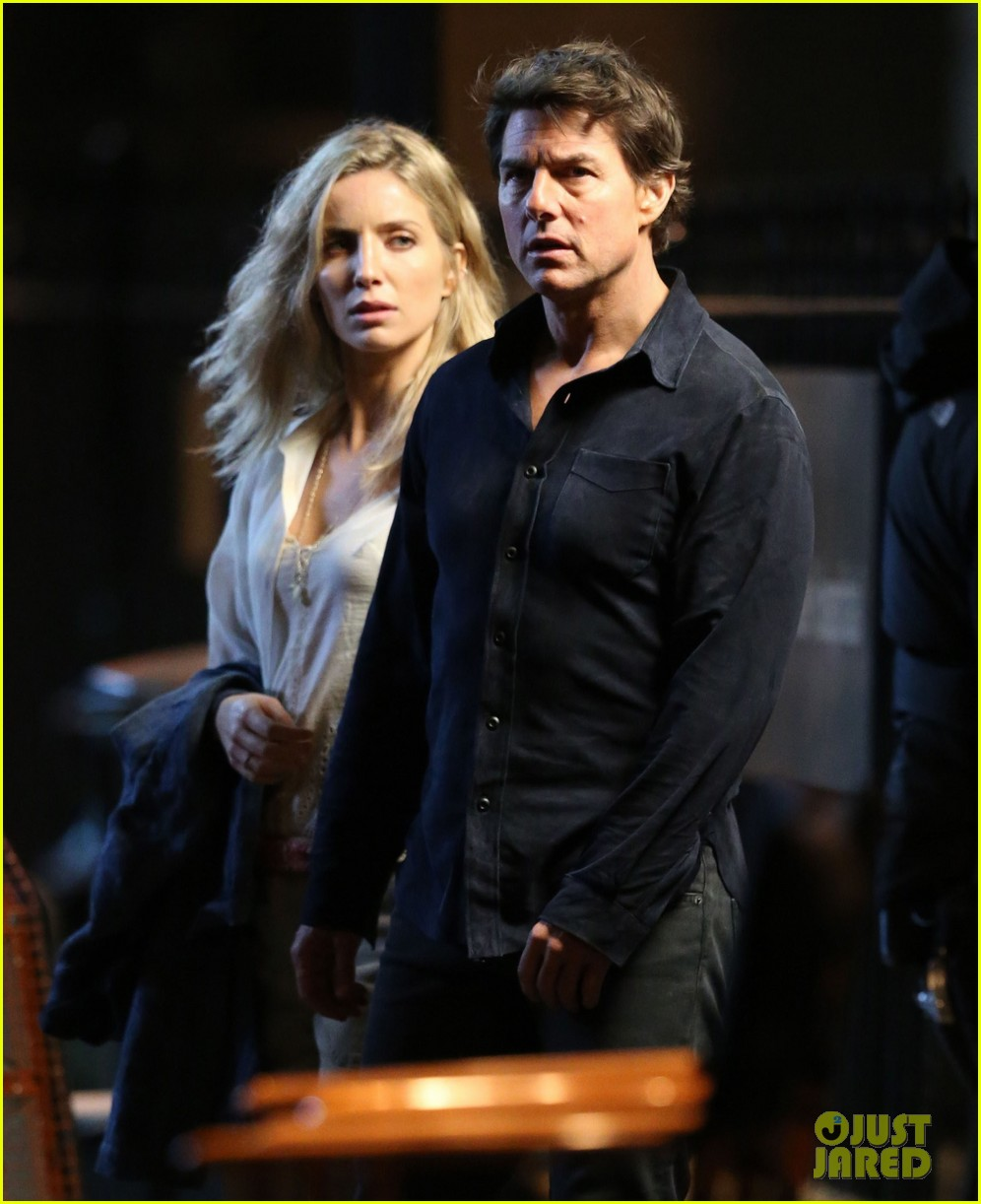 Tom Cruise Spotted On The Mummy Set With Annabelle