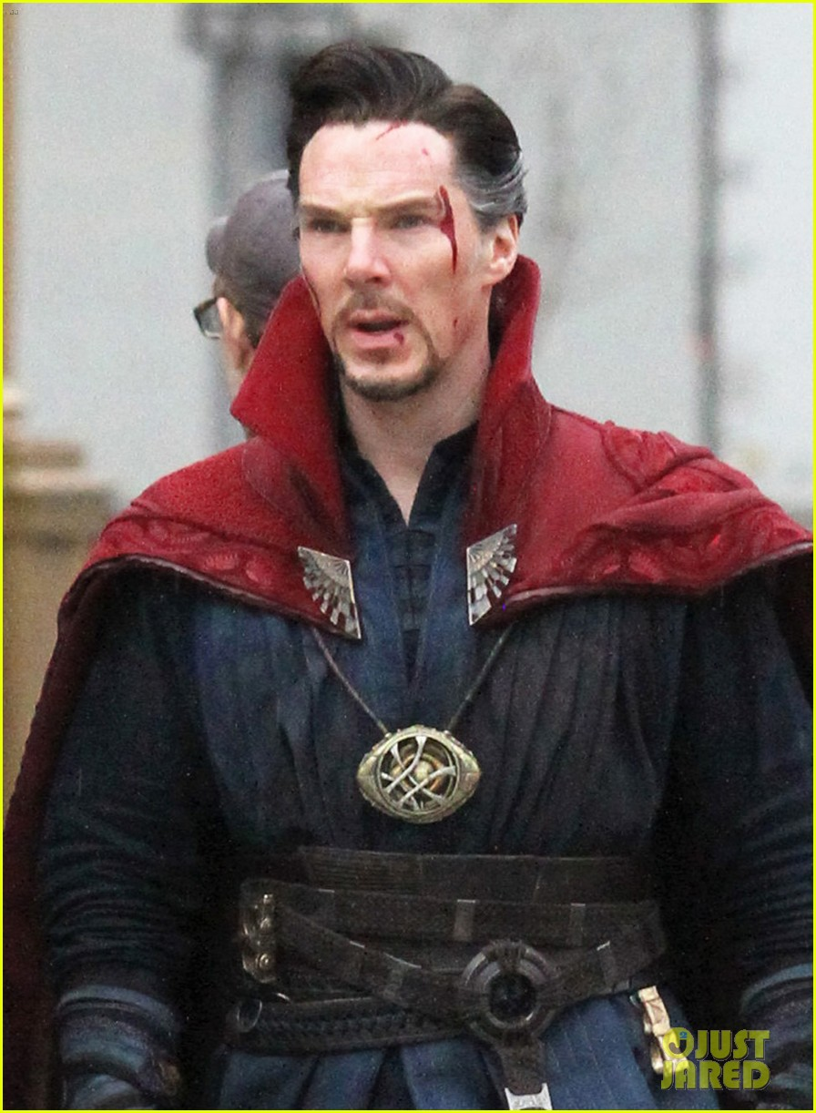 Update Get Your Best Look At Doctor Strange Amp Baron Mordo In Magical New Set Photos Amp Video