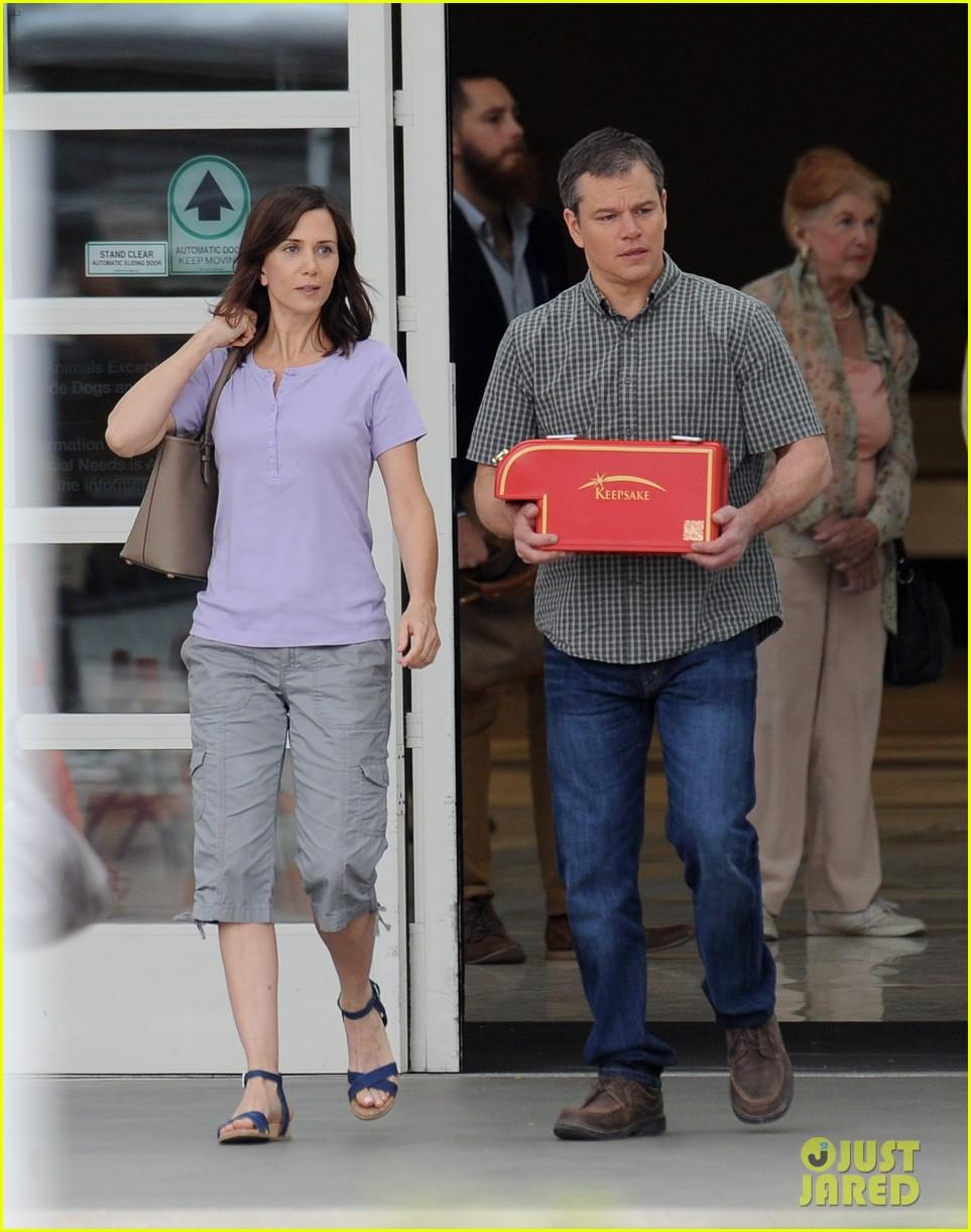 matt damon kristen wii... Matt Damon