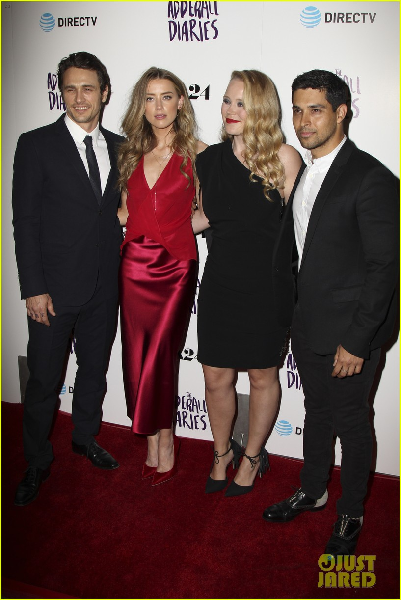james franco amber heard reunite for the adderall diaries premiere 033629671