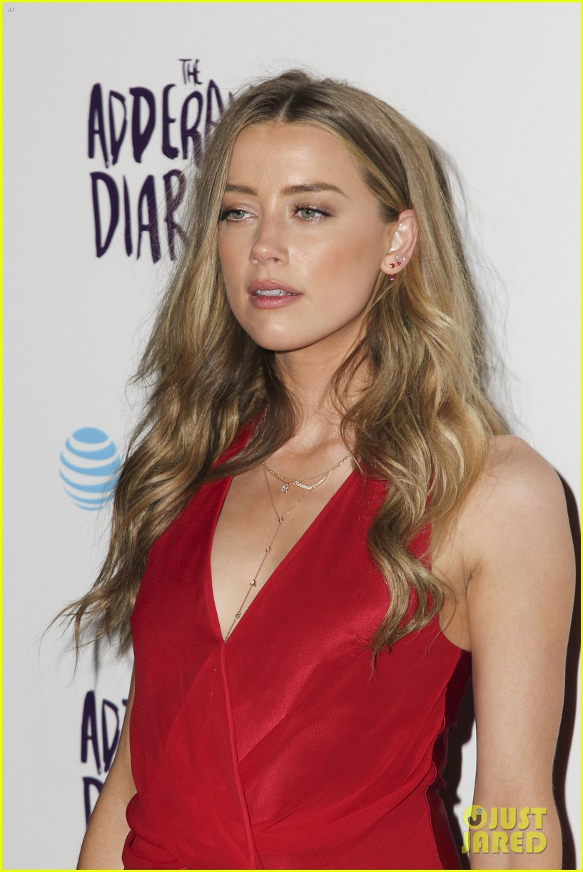James Franco & Amber Heard Reunite For 'The Adderall Diaries' Premiere ... Amber Heard