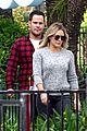 hilary duff mike comrie take luca to legoland 03