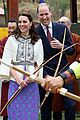 prince william kate middleton recieve warm welcome by king queen bhutan 20