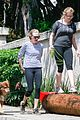 amanda seyfried takes finn for a hike 05