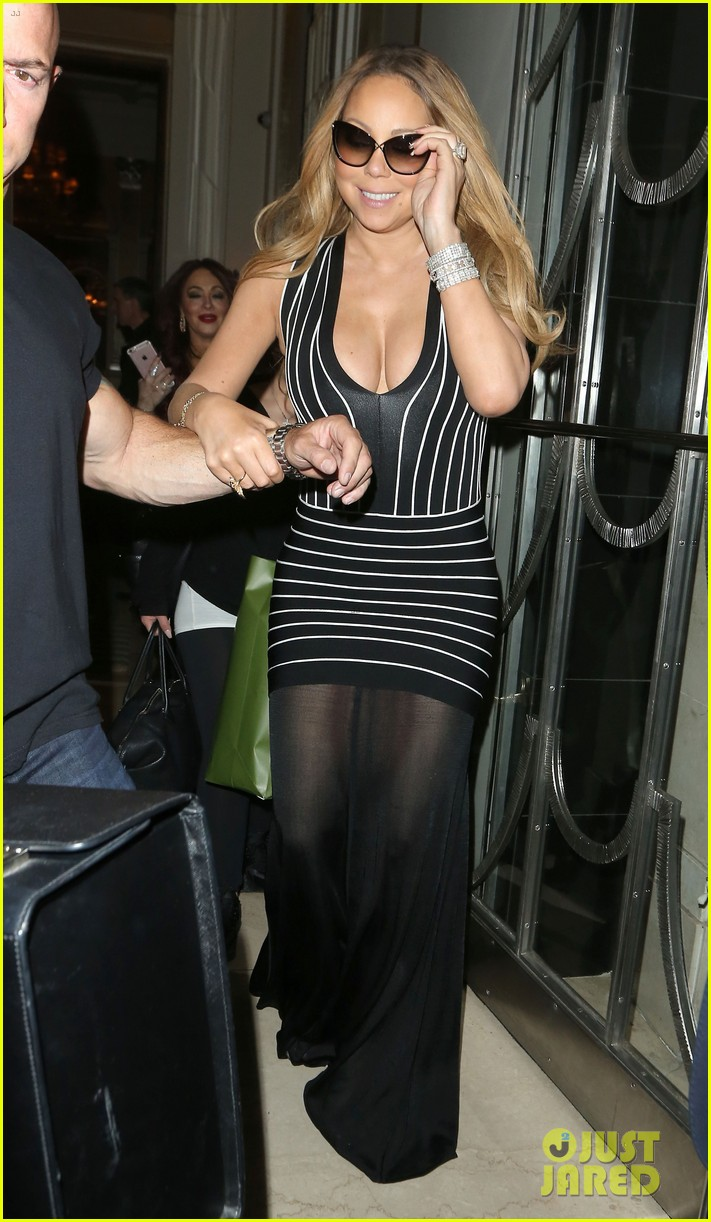 mariah carey has a fun nobu night out with jeff beacher 053662696
