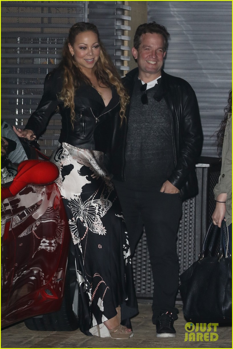 mariah carey has a fun nobu night out with jeff beacher 183662709