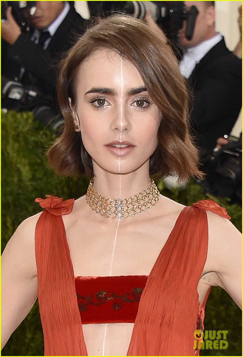 Lily Collins Joins Ans...