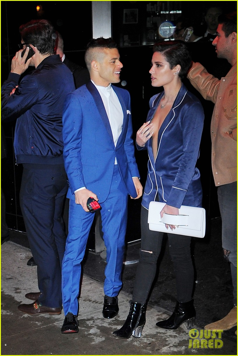 halsey rami malek blue met after 033647358