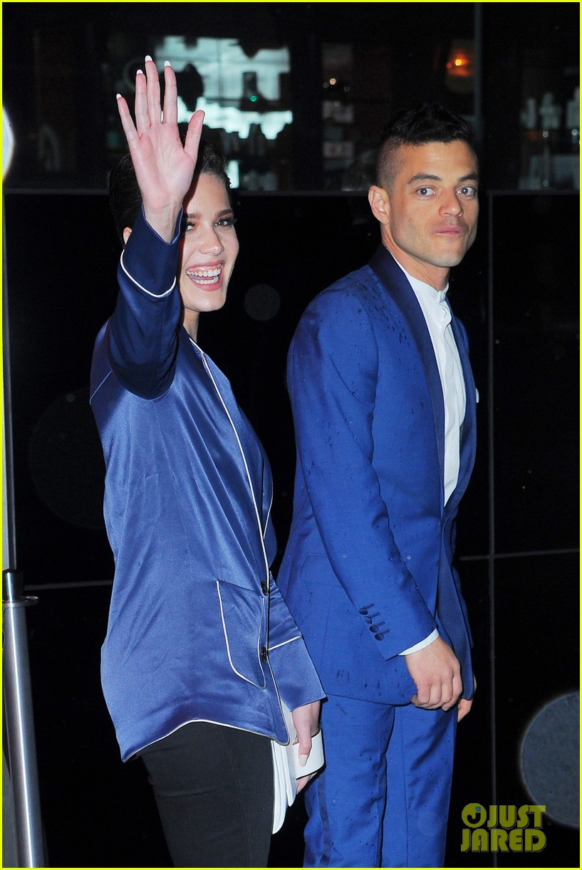 halsey rami malek blue met after 043647359