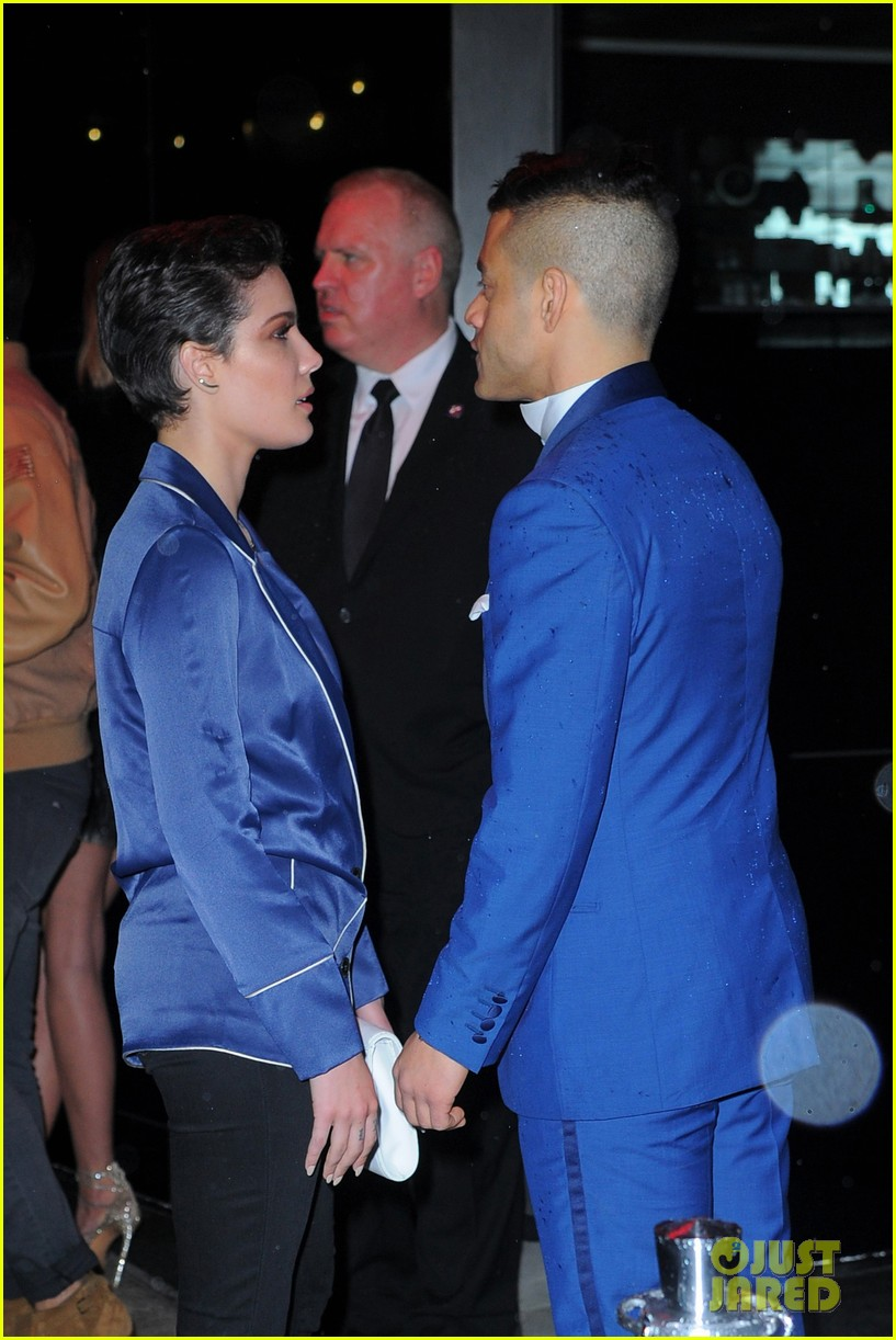 halsey rami malek blue met after 053647360