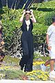 kendall jenner mom kris lay out eden roc dinner breakfast france 03