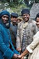 who plays kunta kinte on roots meet malachi kirby 18