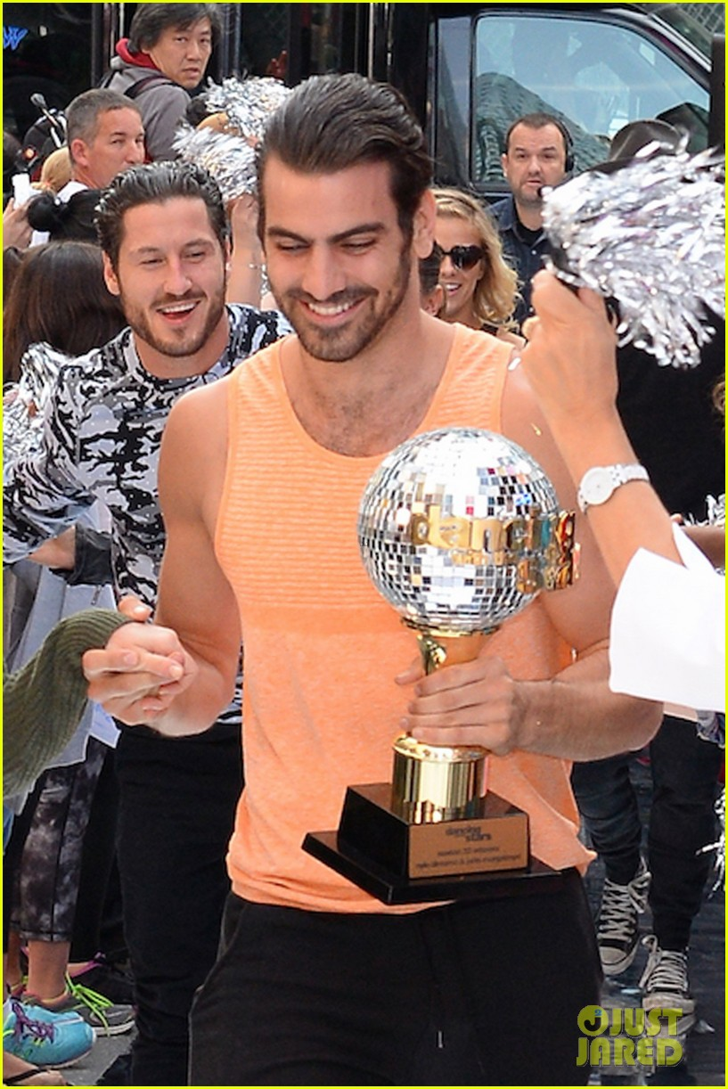 nyle dimarco dancing with the stars champion good morning america 143665996