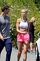 patrick schwarzenegger abby champion weekend workout undying 31
